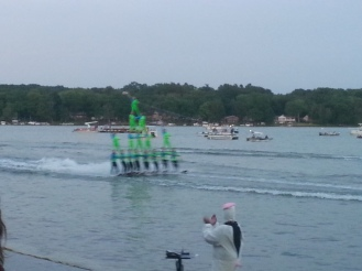 summer tradition: aquanuts water ski show