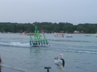 summer tradition: aquanuts water ski show